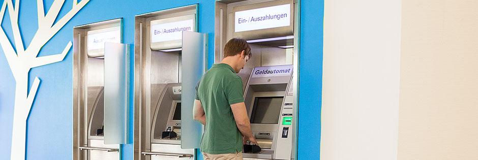 Bargeldautomaten