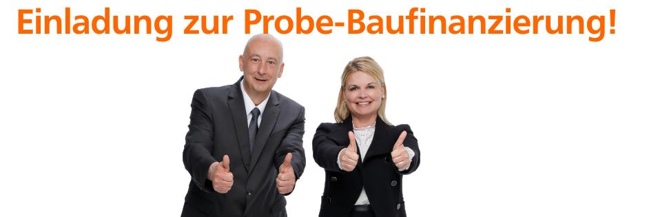 Probe-Baufinanzierung
